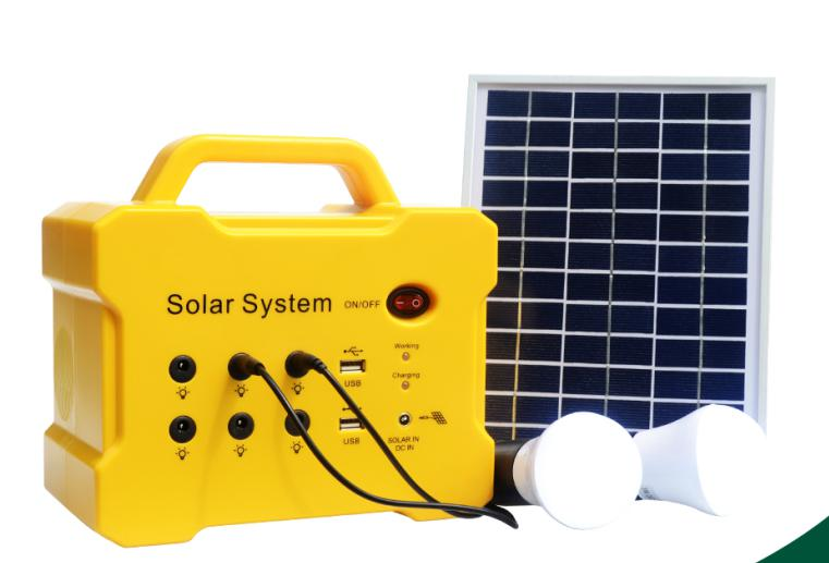 Small solar generation lighting system
